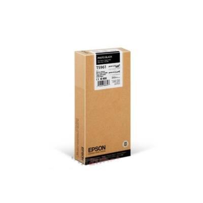 EPSON Patron Singlepack Photo Black T596100 UltraChrome HDR 350 ml
