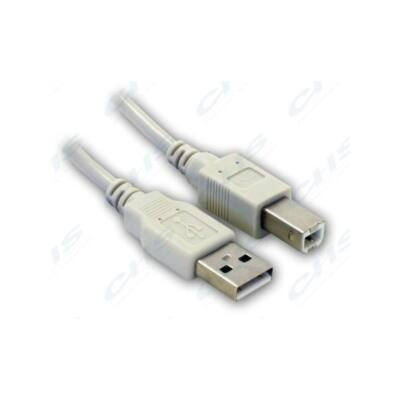 WIRETEK kábel USB Összekötő A-B, 5m, Male/Male